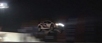 Ostberg's Ford Fiesta WRC Sets New World Record Jump on Snow [Video]