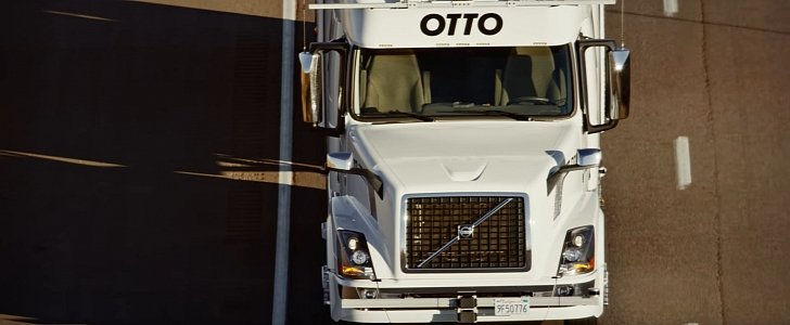 Httpsngpatriotacademy Comtianna G Auto Evolution: Otto Self-Driving Truck Ships Budweiser Beer Cans In First