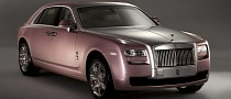 Over 50 Percent of Rolls-Royce Ghost Customers Choose Bespoke Personalization