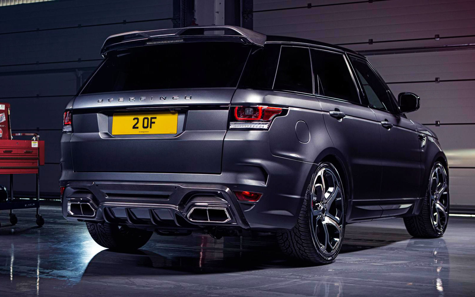 Overfinch Range Rover Sport Is An Exquisite Piece Of Kit Autoevolution