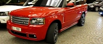 Overfinch Range Rover Vogue GT: Stunning in Red [Video]