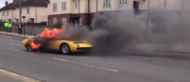 Owner Of Lamborghini Miura That Burned In London Suing H R