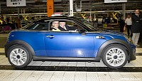 The first MINI Coupe produced is for a UK dealership