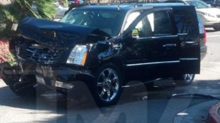 P Diddy Injured in LA Car Crash