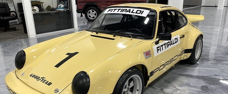 Pablo Escobar's Iconic, Ultra Rare 1974 Porsche 911 RSR Is for Sale