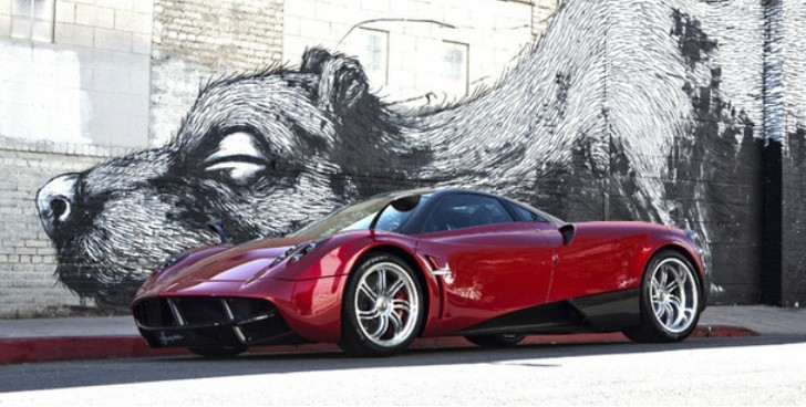 Pagani Huayra Chassis No. 01 For Sale: €2,000,000