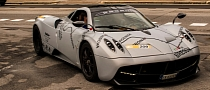 Pagani Huayra Gets Mille Miglia Wrap for the 2013 Race [Photo Gallery]