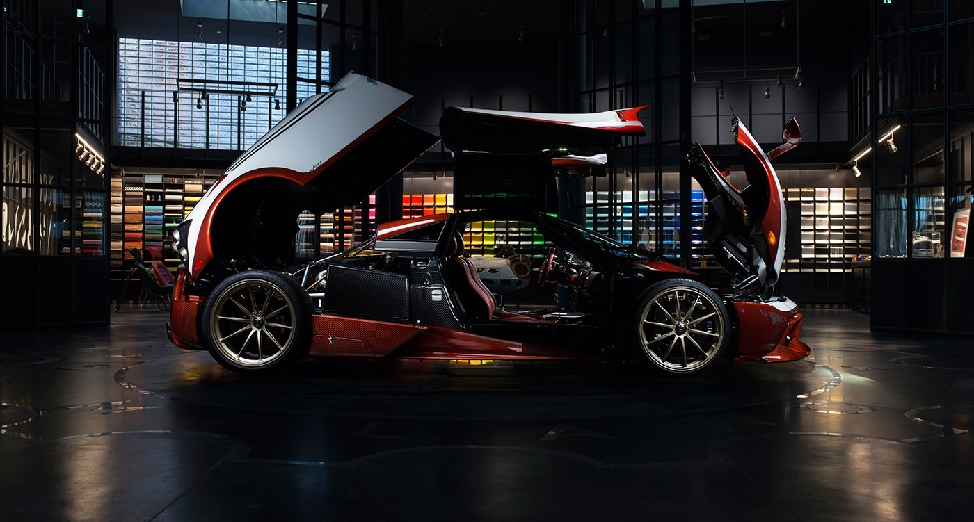 Pagani Huayra Lampo Takes Inspiration From An Old Fiat Concept Car