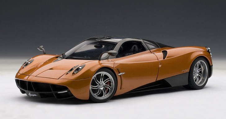 Pagani Huayra, Now a 1:18 Miniature God of Wind [Photo Gallery]