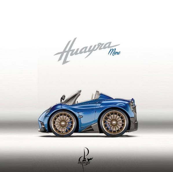 Pagani Huayra Roadster Looks Adorable in mini Render, FXX K and ...