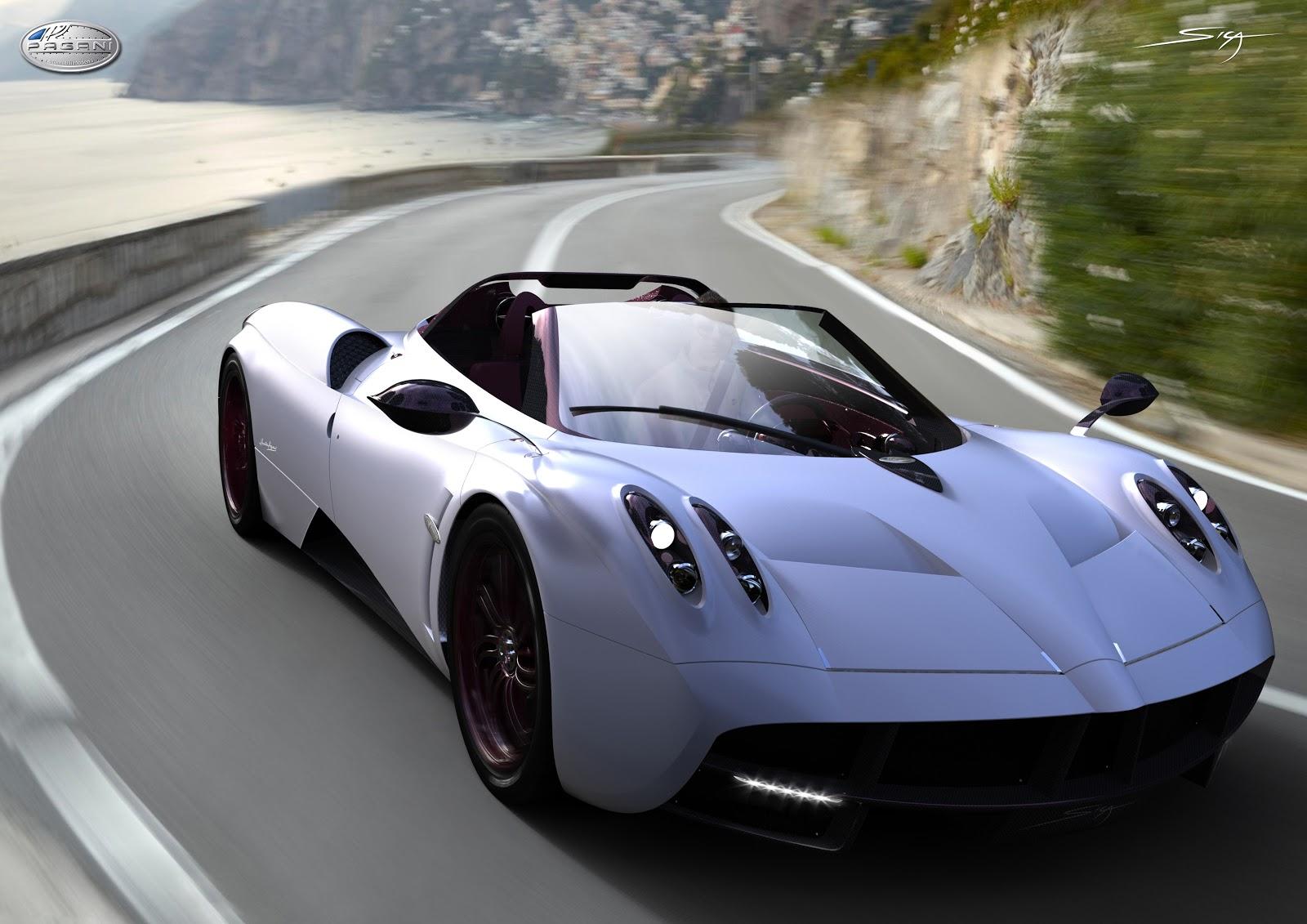 Pagani Huayra Roadster Rendered Autoevolution
