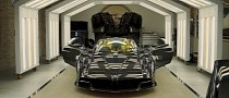 Pagani Shows Mamba Black Exposed Carbon Fiber Huayra as the Last Roadster Ever