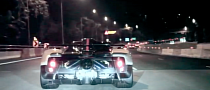 Pagani Zonda Cinque City Cruising at Night [Video]