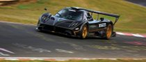 Pagani Zonda R Nurburgring Record Run Video and Pictures