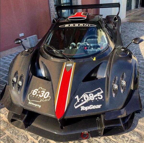 Pagani Zonda Revolucion: Pagani Zonda Revolucion Sets Nurburgring Record For Track