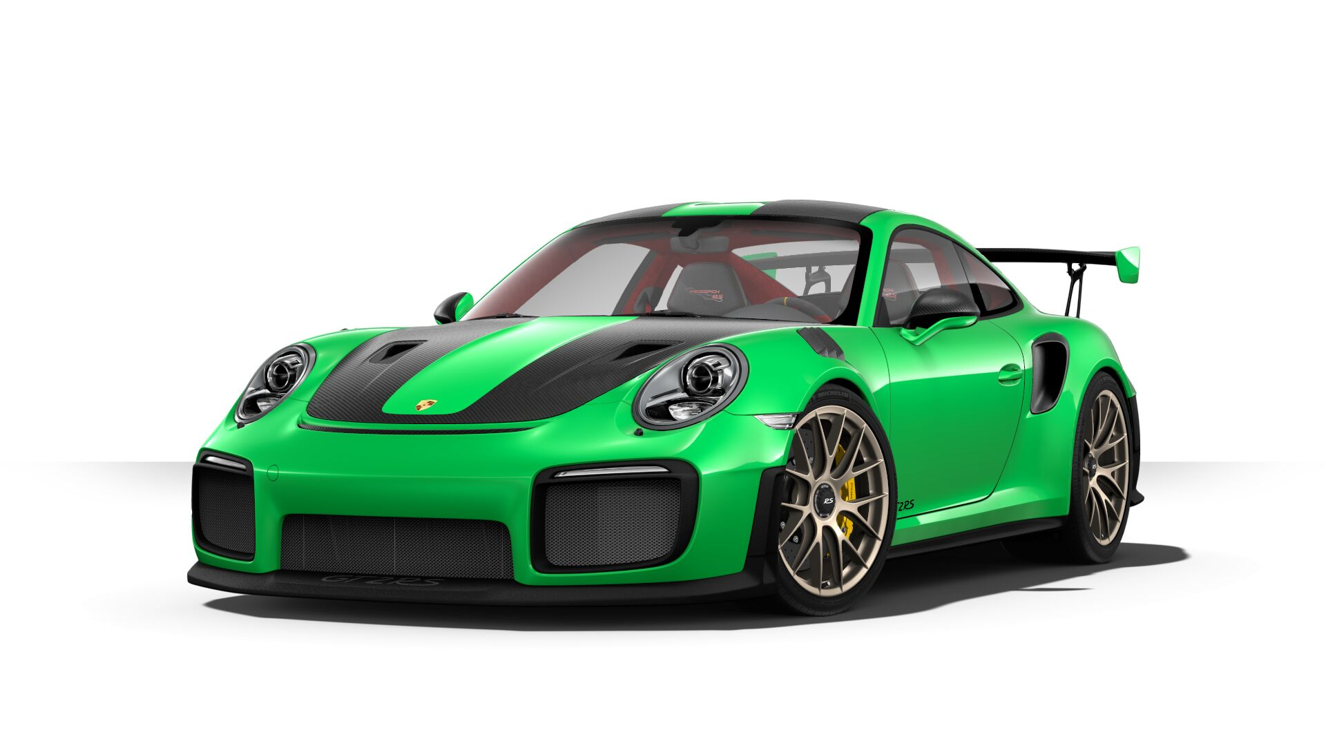 paint to sample 2018 porsche 911 gt2 rs option hits configurator at 12 830 autoevolution. Black Bedroom Furniture Sets. Home Design Ideas