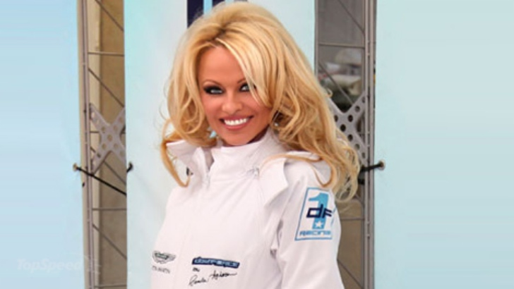 Pamela Anderson Introduces Downforce1 Racing Team