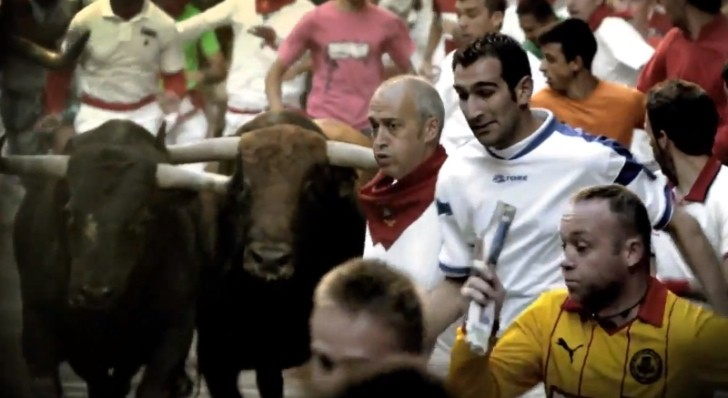 Pamplona Bull Running 2013: They Could Use Lamborghinis [Video]