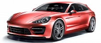 Panamera Shooting Brake Rendered as Production Car