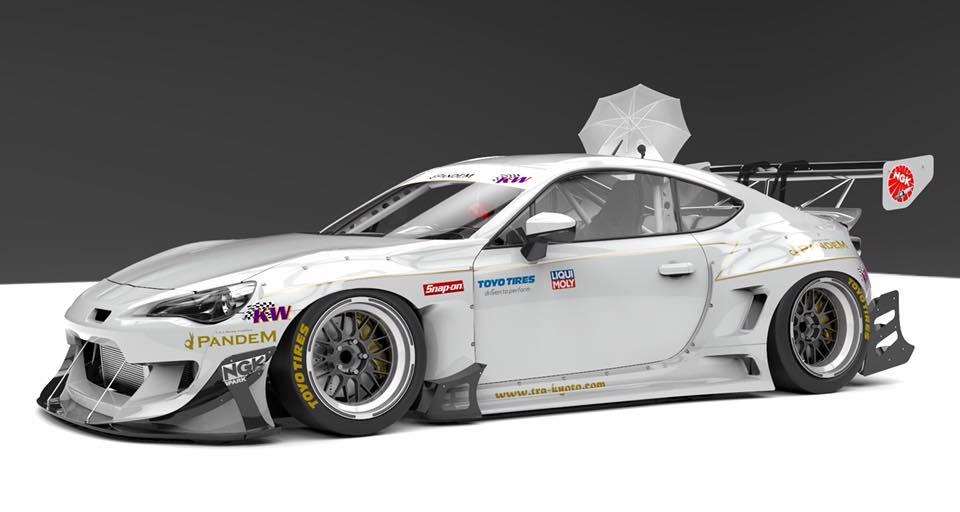Pandem Subaru BRZ Racing Canard Kit Is No Rocket Bunny ...