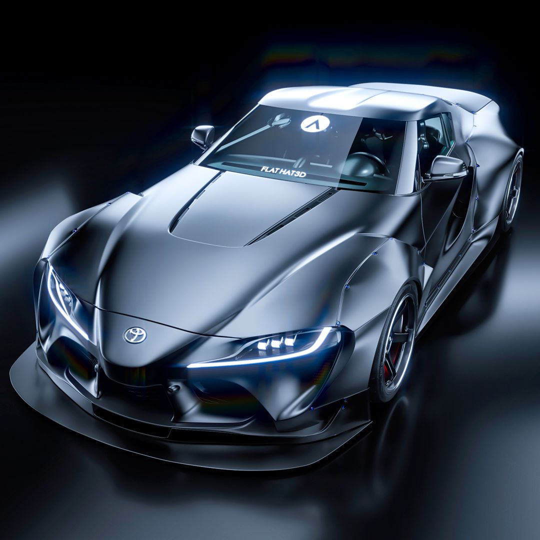 Pandem Toyota Ft 1 Darth Vader Beats The Supra For Pure Entertainment Value Autoevolution
