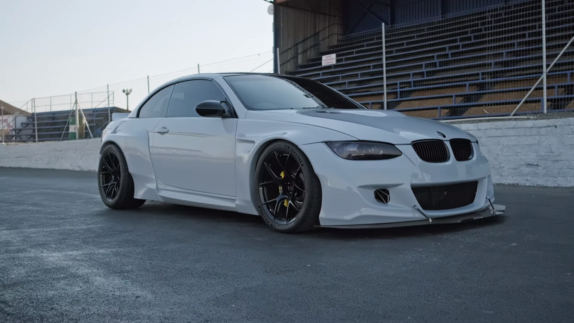 Pandem Widebody Bmw M3 With Maserati V8 Engine Swap Is Absolutely Special Autoevolution