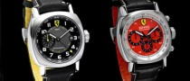 Panerai Adds Two More Watch Models to the Ferrari Scuderia Collection