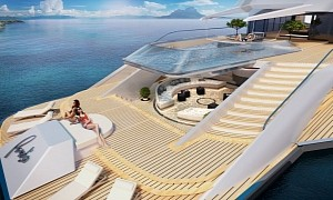 Paradiso Superyacht Shows Off the Most Lavish and Chill Beach Club We've Seen