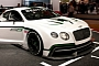 Paris 2012: Bentley Continental GT3 Racer [Live Photos]