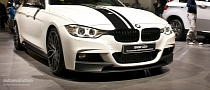 Paris 2012: BMW 3-Series M Performance Accessories [Live Photos]
