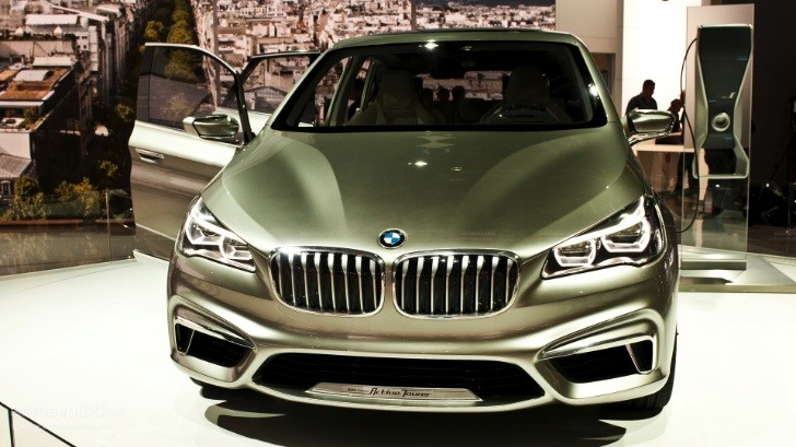 Paris 2012: BMW Active Tourer Concept Previews 1-Series GT [Live Photos]
