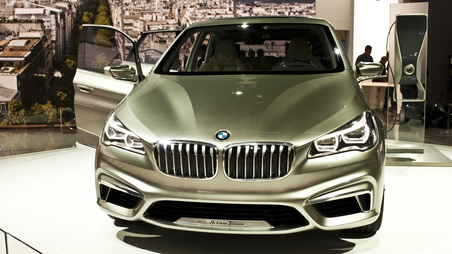 Paris 2012: BMW Active Tourer Concept Previews 1-Series GT [Live ...