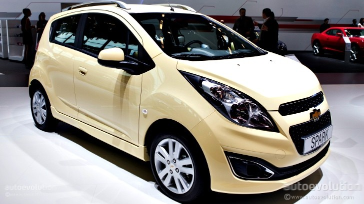 Paris 2012: Chevrolet Spark Facelift [Live Photos]