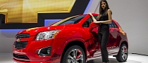 Paris 2012: Chevrolet Trax in Manchester United Theme [Live Photos]