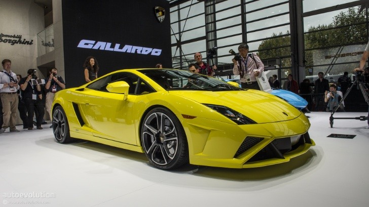Paris 2012: Gallardo LP560-4 Facelift [Live Photos]