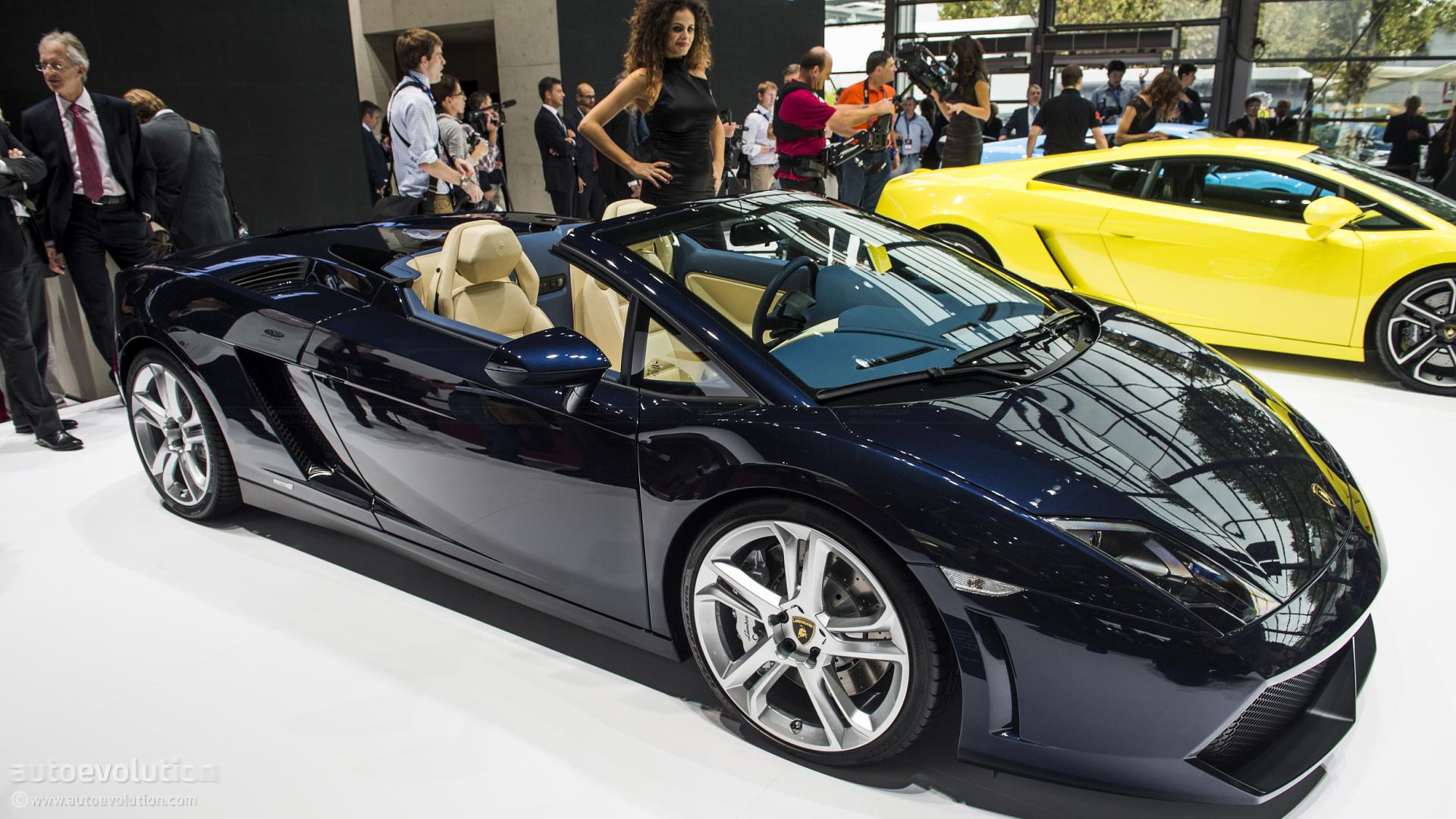 paris 2012 gallardo lp550 2 spyder live photos autoevolution - Lamborghini Gallardo Spyder Black 2013