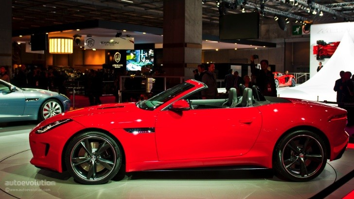 Paris 2012: Jaguar F-Type [Live Photos]