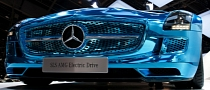 Paris 2012: Mercedes-Benz SLS Electric Drive [Live Photos]