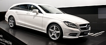 Paris 2012: Mercedes CLS Shooting Brake [Live Photos]