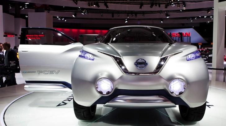 Paris 2012 Nissan Terra Concept Live Photos Autoevolution