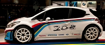 Paris 2012: Peugeot 208 Type R5 Rally Car [Live Photos]
