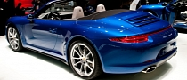 Paris 2012: Porsche 911 Carrera4 Cabriolet [Live Photos]