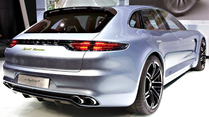 Paris 2012: Porsche Panamera Sport Turismo (Shooting Brake) [Live Photos]