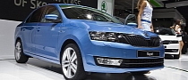 Paris 2012: Skoda Rapid [Live Photos]