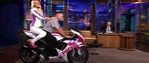Paris Hilton- and Jay Leno-autographed GSX-R Bodywork Up for Grabs