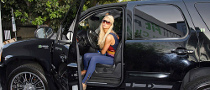 Paris Hilton Goes Green, Gets a Hybrid Escalade
