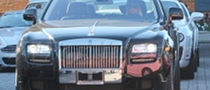 Paris Hilton in a Brand New Rolls Royce Ghost