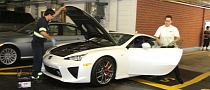 Paris Hilton's Lexus LFA Breaks Down in Beverly Hills