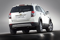 New Captiva SUV rear view