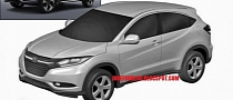 Patent Images Show Honda's Production Small Urban SUV